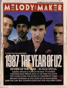 U2 Magazine Covers 1987
