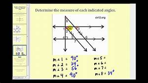 Examples 2  Perpendicular Transversals