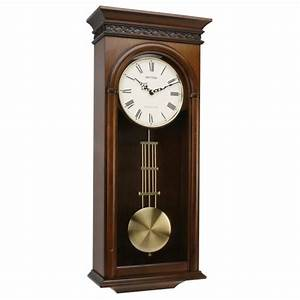 Rhythm japan westminster chime alder wood pendulum wall for Wall chime clocks wood