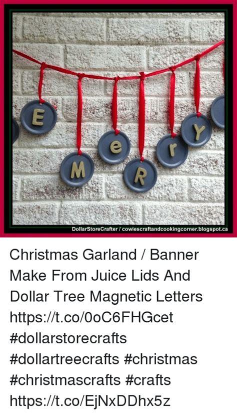 dollar tree christmas letters dollarstorecrafter cowiescraftandcookingcornerblogspotca garland banner make from
