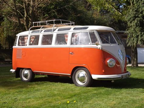 Rare Classic Vw Camper Van To Go Under The Hammer