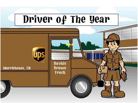 christmas gift for ups driver ups truck driver custom comic text gift personalized printable