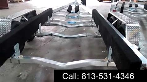 Tandem Aluminum Boat Trailer by Our Tandem Axle Aluminum Boat Trailer Review