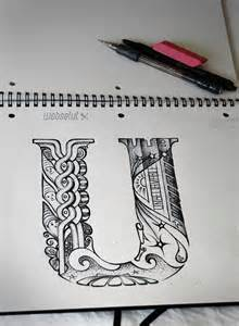 Illustrated Calligraphy Letter