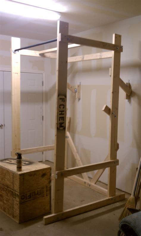 woodwork wooden squat rack plans  plans