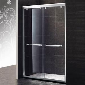 Porte de douche coulissante diva 130 portes de douche for Porte douche coulissante 130