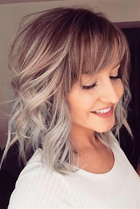 popular fringe bangs hairstyles  women hair goals