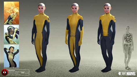 Agents Of Shield Wallpaper Deadpool Concept Art Depicts The Evolution Of Negasonic Teenage Warhead