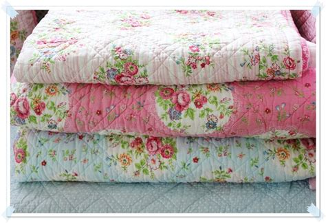 shabby chic cotton blanket delicious green gate blankets girl s room pinterest beautiful shabby chic and cotton quilts