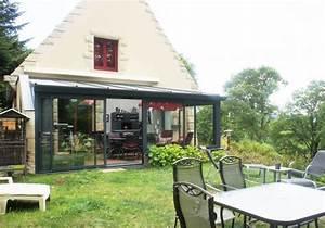 Jardin D Hiver Veranda : le jardin d 39 hiver v randa sur le jardin permettant de ~ Premium-room.com Idées de Décoration
