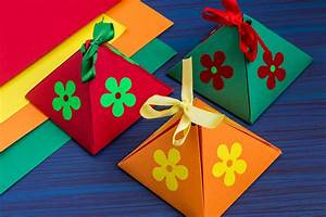 how to make gift box for project the 123