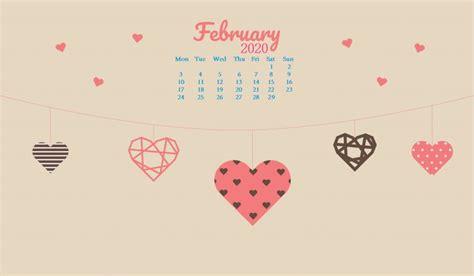 february  hd desktop wallpaper   calendar