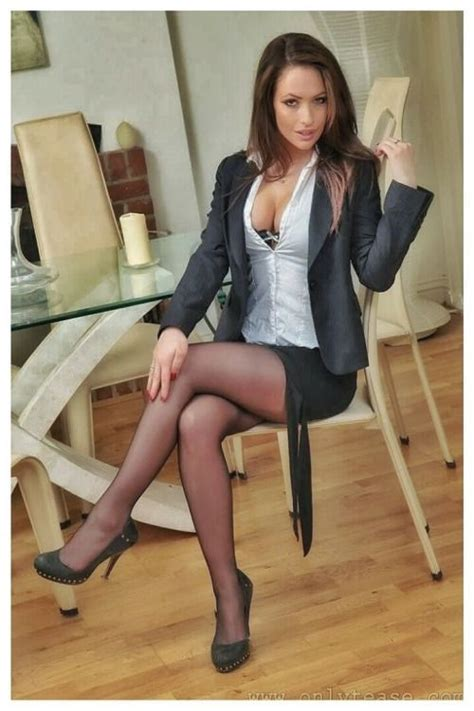Best Beautiful Secretaries In Business Suits Images On Pinterest Business Outfits