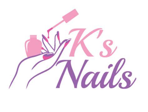 Ks Nails logo design - 48HoursLogo.com
