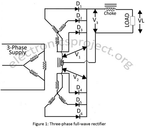 phase center tap full wave rectifier electronics