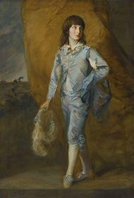 Gainsborough Blue Boy Painting