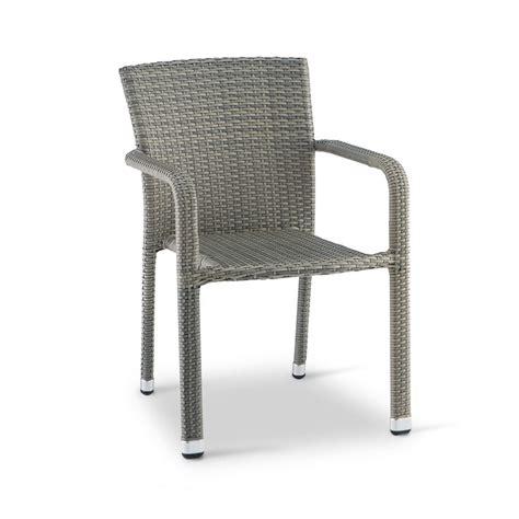 sedie in alluminio per esterno tt19 sedia da giardino con braccioli in alluminio e