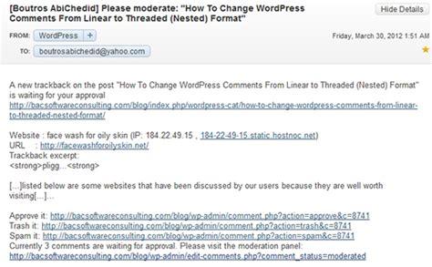 Trackbacks And Pingbacks In Wordpress