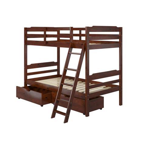 bunk beds acme furniture eclipse metal bunk bed