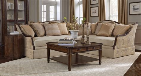 Rustic Sectional Sofa by Creme Transitional Rustic Walnut Sectional Sofa Living