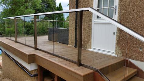 glass balustrade decking composite decking glass balcony balcony systems