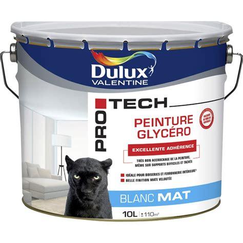 peinture blanche mur plafond boiserie pro tech glycero dulux mat 10 l jpg