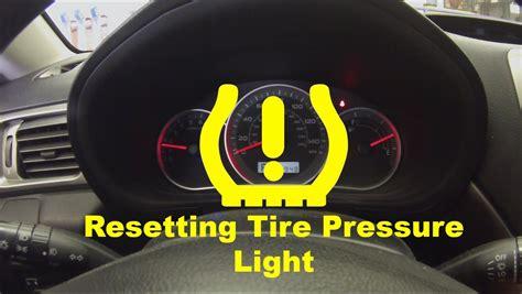 low tire pressure light resetting low tire pressure light doovi
