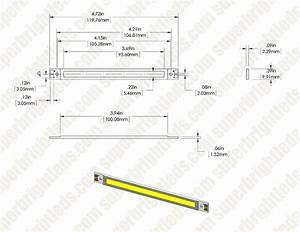 vollong 3w white high power linear cob led super bright leds With super bright white led circuits uses a super bright white led circuits