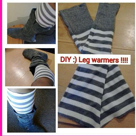 diy upcycled sweater diy leg warmers and diy infinity scarf