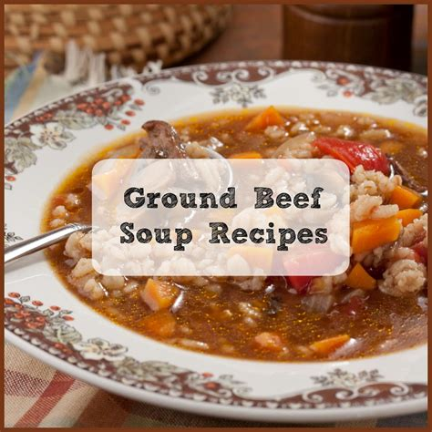 best vegetable soup recipes ground beef soup recipes top 8 beef soups mrfood