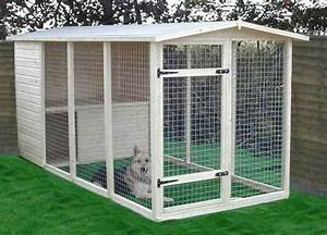 What i learned about outdoor dog kennels sonja travaglini for Outside dog cages for large dogs