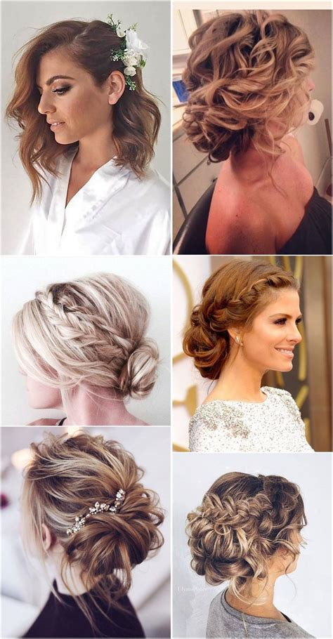 lovely medium length hairstyles   weddings