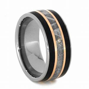 15 Ideas Of Men39s Wedding Bands Meteorite