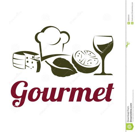 cuisine logo gourmet cuisine logo stock vector illustration of gourmet