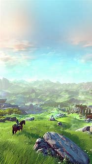 Breath Of The Wild Phone HD Wallpapers - Wallpaper Cave