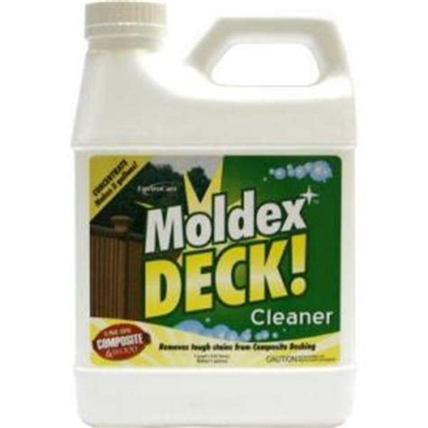 moldex deck concentrated cleaner discontinued