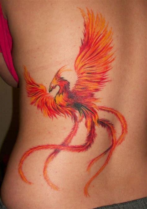ave fenix tatuajes  mujeres