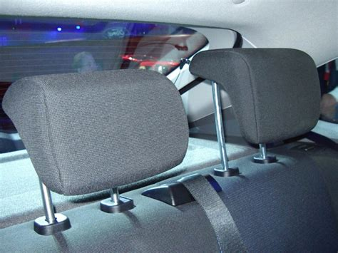L Shaped Rear Headrest