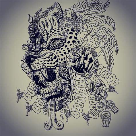 Aztec Jaguar Warrior Tattoo