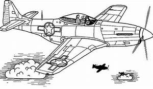 p 51 mustang coloring pages With mustang wallpaper