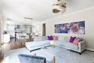 modernes wohnzimmer mit essbereich wohnzimmer und küche in einem raum gestaltungsideen