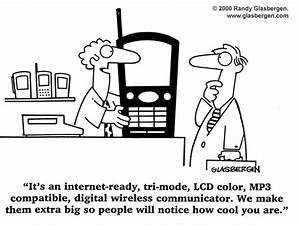 cartoons about mobile phones randy glasbergen With wireless networking