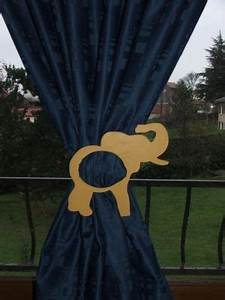Embrasse Rideau Originale : article embrasse rideau l phant pour chambre d 39 enfants ~ Teatrodelosmanantiales.com Idées de Décoration