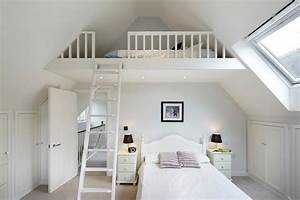 adult bedroom traditional with loft bed drawer nightstands