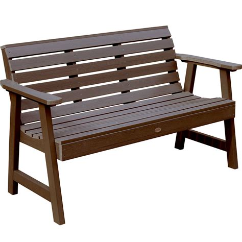 outdoors benches synthetic wood outdoor bench in outdoor benches