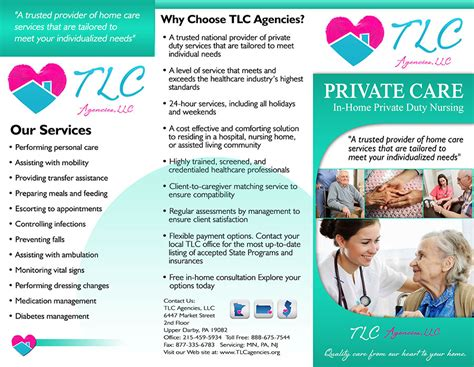 Home Health Care Brochure Templates by 10 Best Images Of Nursing Home Brochures Nursing Home