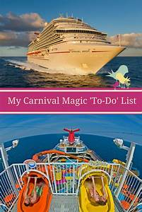 My Carnival Magic 'To-Do' List | Carrie on Travel  Carnival
