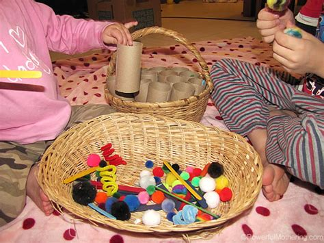 loose parts play  toddlers