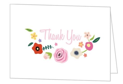thank you for hosting card template bridal shower thank you card wording etiquette sayings