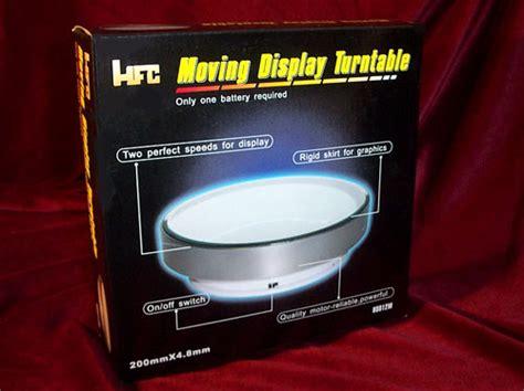 mirrored rotating display turntable hfc diecast